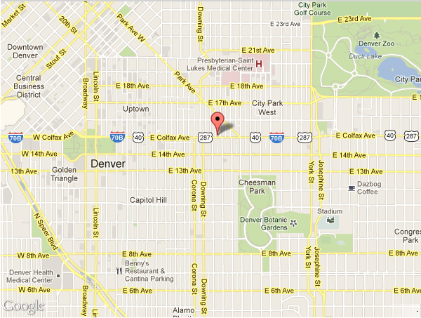 Map to Dental Health at Midtown