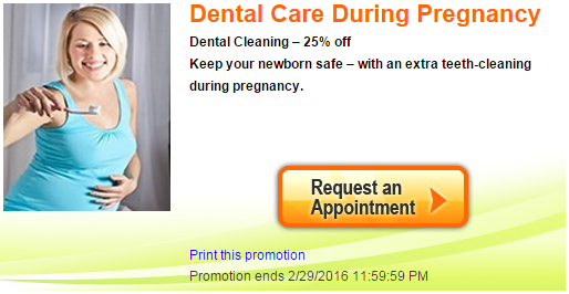 Pregnant Dental Care Promo